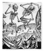 Black Plague, 1493 Fleece Blanket