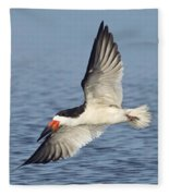 Black Skimmer Fleece Blanket