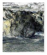 Black Surf Fleece Blanket