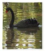 Black Swan Series II Fleece Blanket