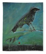 Blackbird Redberry Fleece Blanket