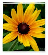 Blackeyed Susan Fleece Blanket