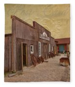 Blacksmith Shop Fleece Blanket