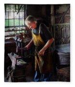 Blacksmith - Starting With A Bang  Fleece Blanket