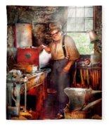 Blacksmith - The Smithy  Fleece Blanket