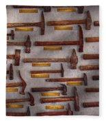 Blacksmith - Tools - Pounding Headache  Fleece Blanket
