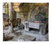 Blacksmiths Workshop Fleece Blanket