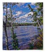 Blackwater River Fleece Blanket