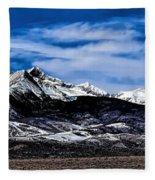 Blanca Mountains Near Fort Garland Colorado Fleece Blanket