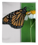 Blank Greeting Card 5 Fleece Blanket