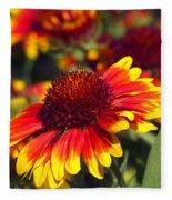 Blanket Flower Fleece Blanket