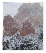 Blanketed Grandeur - Garden Of The Gods Fleece Blanket