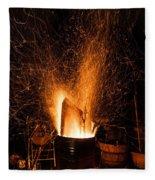 Blazing Bonfire Fleece Blanket