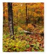Blazing Forest Fleece Blanket