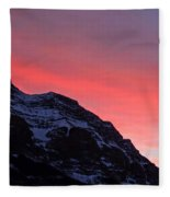 Blazing Pink Fleece Blanket