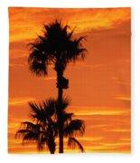 Blazing Sunset Fleece Blanket