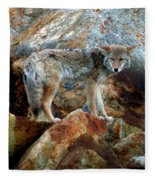 Blending In Nature Fleece Blanket
