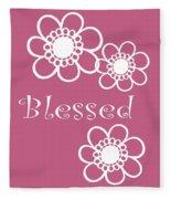 Blessed Fleece Blanket