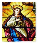Blessed Mother's Ascension Fleece Blanket