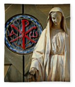 Blessed Virgin Mary -- Nazareth Fleece Blanket