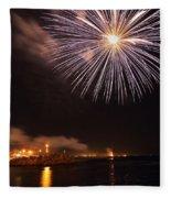 Blessing Of The Fleet - Fremantle 2am-112472 Fleece Blanket