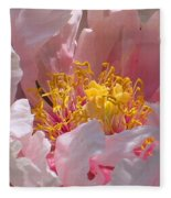 Blessings And Blossoms  Fleece Blanket