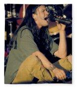 Blind Melon Singer Shannon Hoon Fleece Blanket