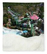 Blizzard Ski Lifts Fleece Blanket