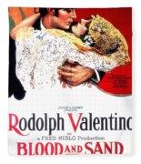Blood And Sand 1922 Fleece Blanket