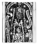 Bloodletting, 1496 Fleece Blanket