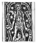 Bloodletting, 1518 Fleece Blanket