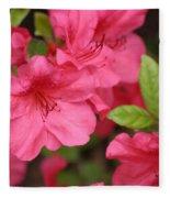 Blooming Azalea Fleece Blanket