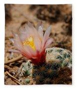 Blooming Cactus Fleece Blanket