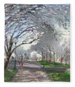 Blooming In Niagara Park Fleece Blanket