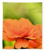 Blooming Marigold Fleece Blanket