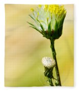 Blooming Weed Fleece Blanket
