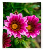 Blooming With Life Fleece Blanket