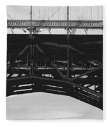 Bloor Street Viaduct Fleece Blanket