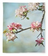 Blossom Branch Fleece Blanket