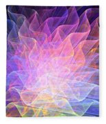 Blossoms Fleece Blanket