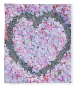 Blossoms Of Love - Cherry Blossoms 2013 - 071 Fleece Blanket