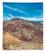 Blotchy Foothills Fleece Blanket