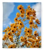 Blowin In The Wind Fleece Blanket