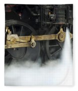 Blowing Of Steam Fleece Blanket
