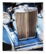 Blue 1953 Mg Fleece Blanket