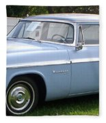 Blue 1955-56 Chrysler Fleece Blanket