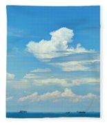 Blue A Sailors Delight Fleece Blanket