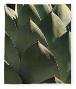 Blue Aloe Fleece Blanket
