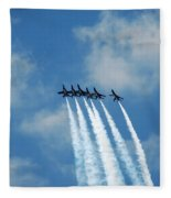 Blue Angels 3 Fleece Blanket