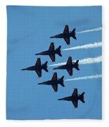 Blue Angels 4 Fleece Blanket